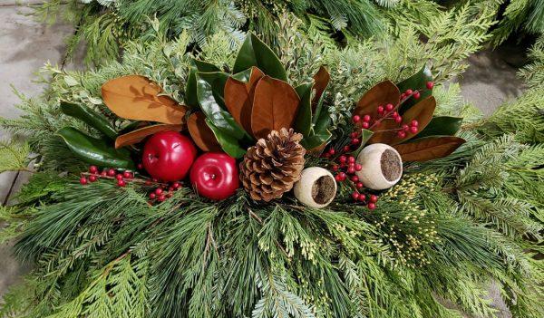 Christmas centrepiece